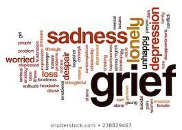 grief - word cloud